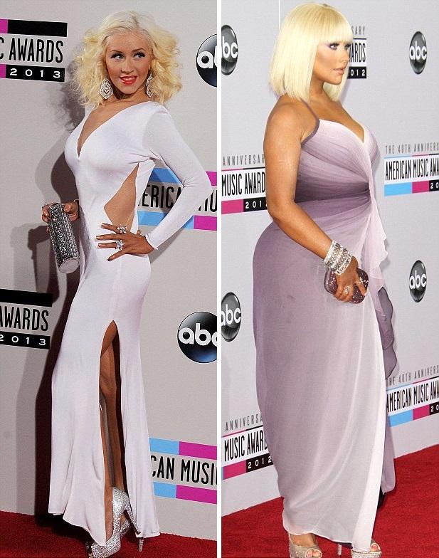 metamorfoza Christina Aguilera